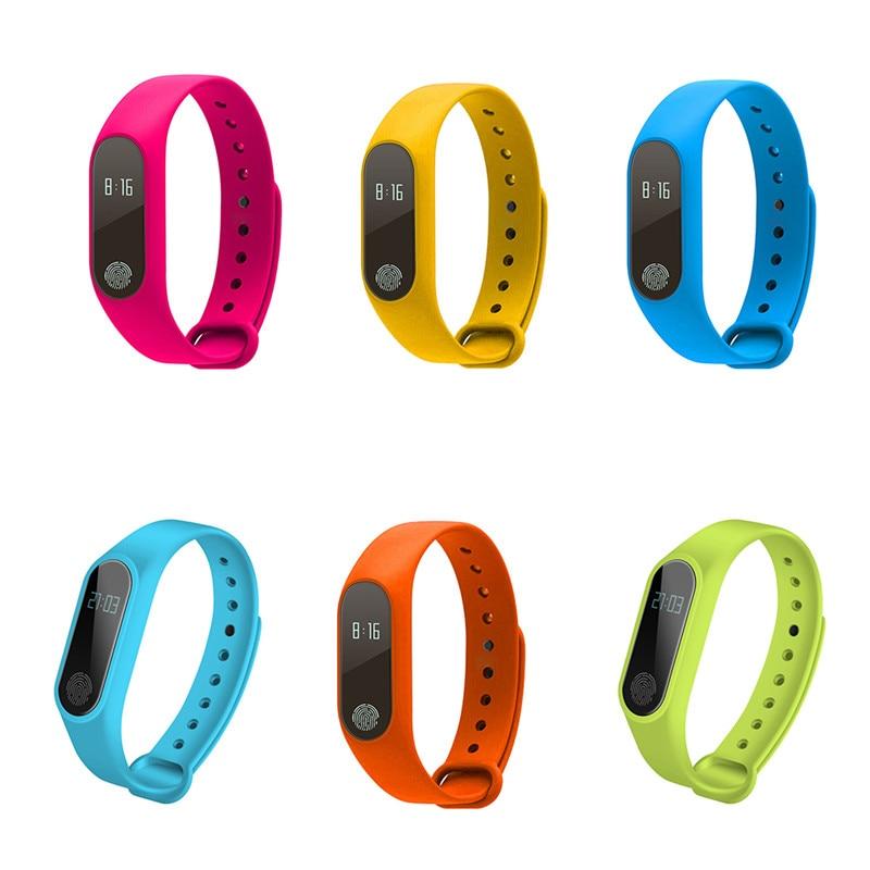 M2 Smart Wristband Heart Rate Monitor IP67 Waterproof Smart Bracelet Call Reminder Pedometer Fitness Sleep Tracker