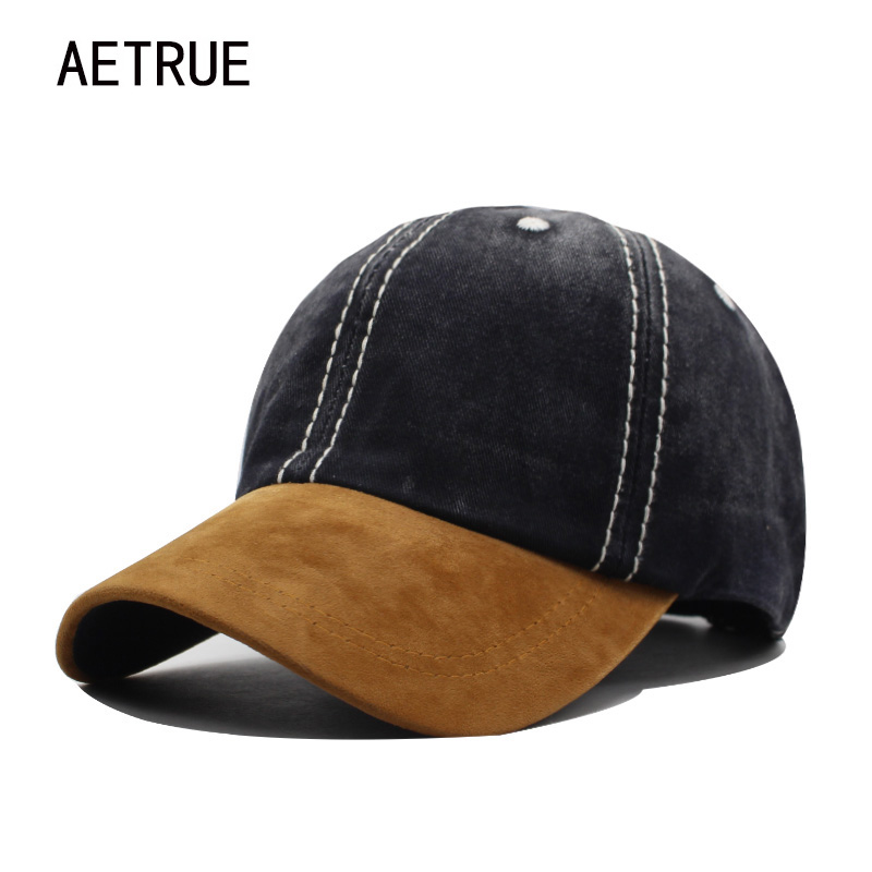 AETRUE Fashion Baseball Cap Men Women Snapback Caps Casquette Bone Hats For Men Solid Casual Plain Flat Washed Blank Cotton Hat women baseball cap hats for men snapback caps men casquette plain blank bone solid gorras flat polo brand baseball caps new 2017