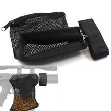 Hunting Accessories Military Gear AR-15 Ammo Brass Shell Catcher Mesh Trap Nylon Mesh Bag Capture Black .223 / 5.56 стоимость
