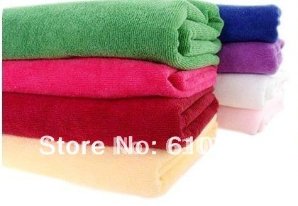 Wholesale microfiber  bath towel  Microfibre Cleaning Towel Travel Swimming Camping Towel Quick dry 70*140CM 4pcs/lot