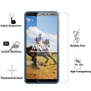 Image 2 - กระจกนิรภัยสำหรับ Samsung Galaxy A7 2018 A6 A8 J4 Plus แก้วป้องกันหน้าจอ J5 A5 2017 สำหรับ samsung A7 2018 J8 A9 J6