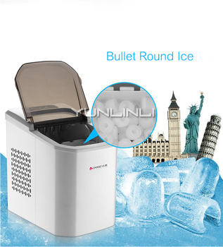 Ice Cube Makers | Mini Ice Maker Household/Commercial Small Size Ice Machine 220V Full-automatic Ice Cube Machine ZG-Z6