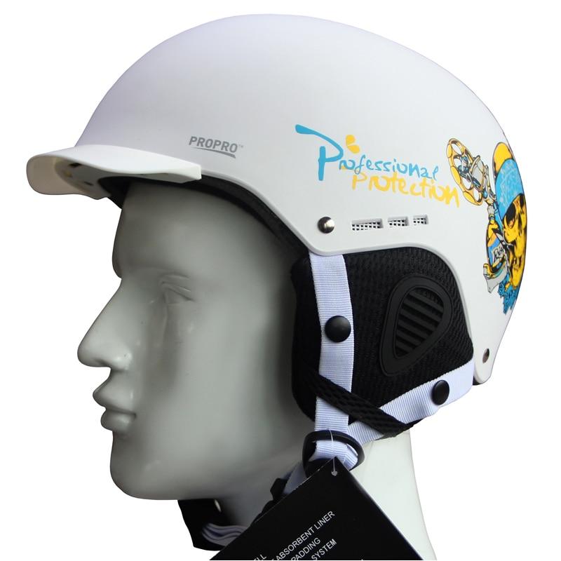 Prix pour PROPRO NOUVEAU 2017 ski casque intégralement moulée léger placage à double plaque de neige casque chaud vent bouchon de neige Adultes Enfants
