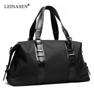 Image 1 - New  Mens Travel Bags Large Capacity Men Luggage Large Capacity Handbags Oxford Travel Duffle Bags Fashion Men Folding Bag