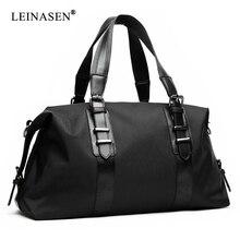 Nowe męskie torby podróżne o dużej pojemności męskie torebki o dużej pojemności Oxford Travel torba worek moda męska torba składana