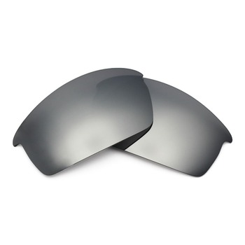 Mryok POLARIZED Replacement Lenses for Oakley Bottlecap Sunglasses Silver Titanium