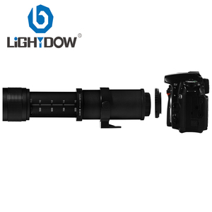Image 5 - Lightdow 420 800mm F/8.3 16 Super Telephoto Lens Manual Zoom Lens +T2 Adaper Ring for Canon  DSLR Cameras EF EF S Mount Lens