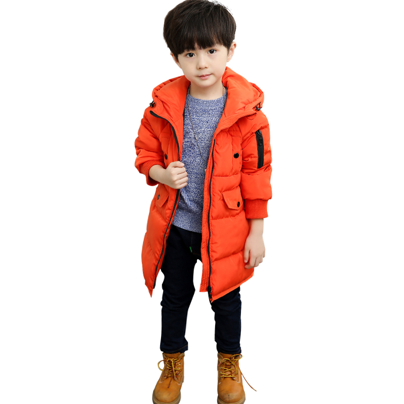 New Winter Jackets For Boys Fashion Boy Thicken Snowsuit Children Down Coats Outerwear Warm Tops Clothes Big Kids Clothing new 2017 russia winter boys clothing warm jacket for kids thick coats high quality overalls for boy down