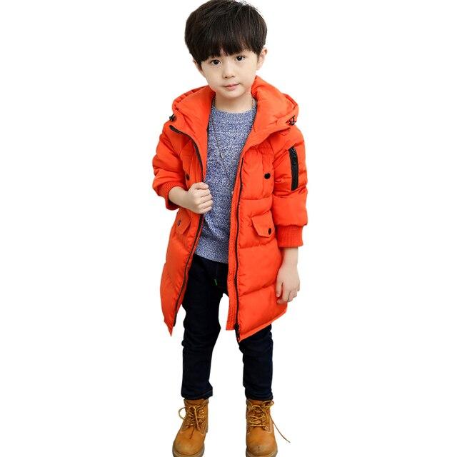 cb880a7f2 New Winter Jackets For Boys Fashion Boy Thicken Snowsuit Children ...