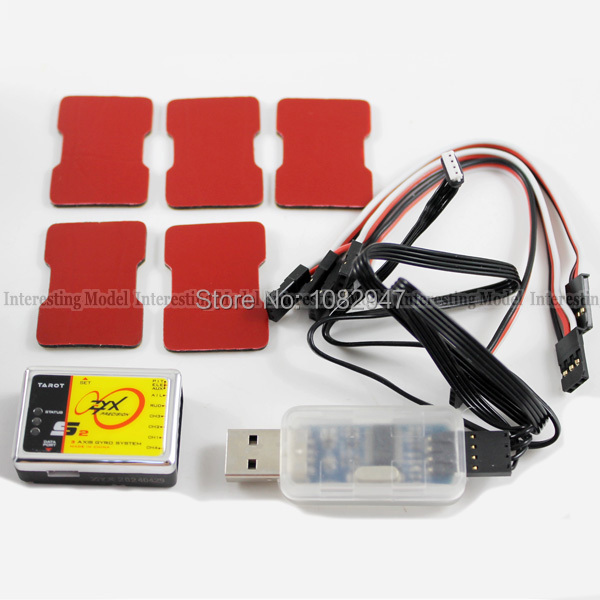 Original Tarot ZYX-S2 Flybarless 3 Axis Gyro System For Tarot/Align/Trex 450 500 550 600 700 3G FBL RC Helicopter + Freeshipping цена 2017