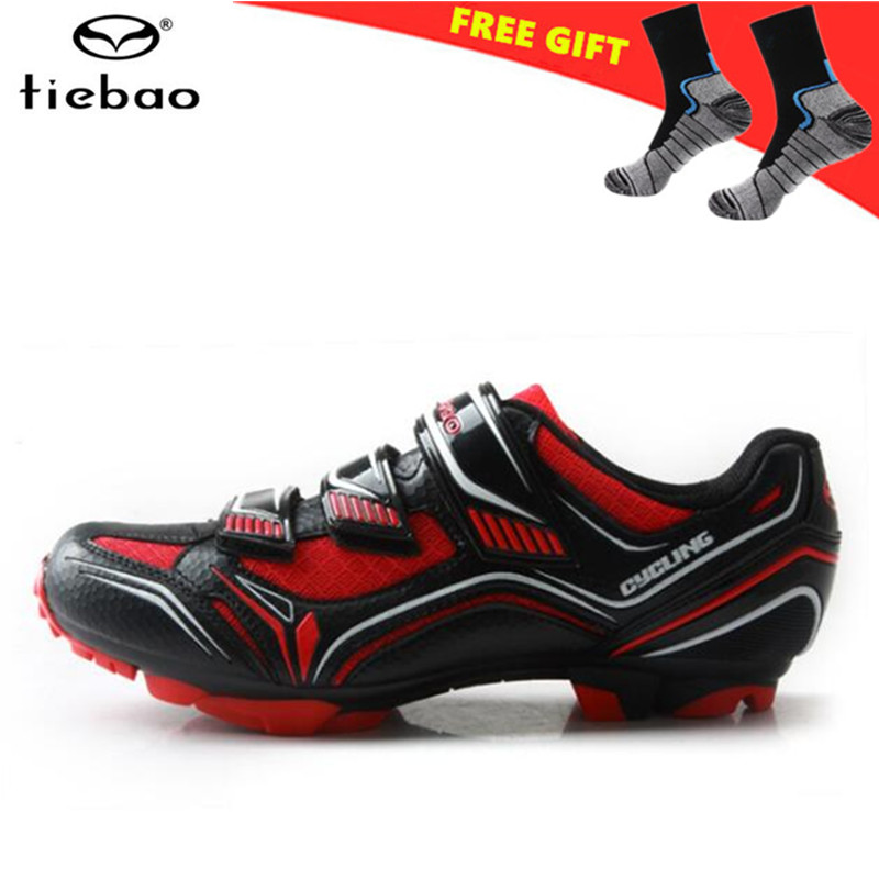 TIEBAO Cycling Shoes men MTB Bike Shoes Outdoor Sports Bicycle Shoes Self-Locking Athletic Racing Sneakers zapatillas ciclismo
