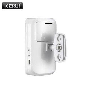 Image 5 - KERUI מיני אלחוטי אינטליגנטי PIR חיישן תנועת גלאי אזעקת GSM PSTN בית פורץ נגד גניבה מעורר מערכת אבטחה