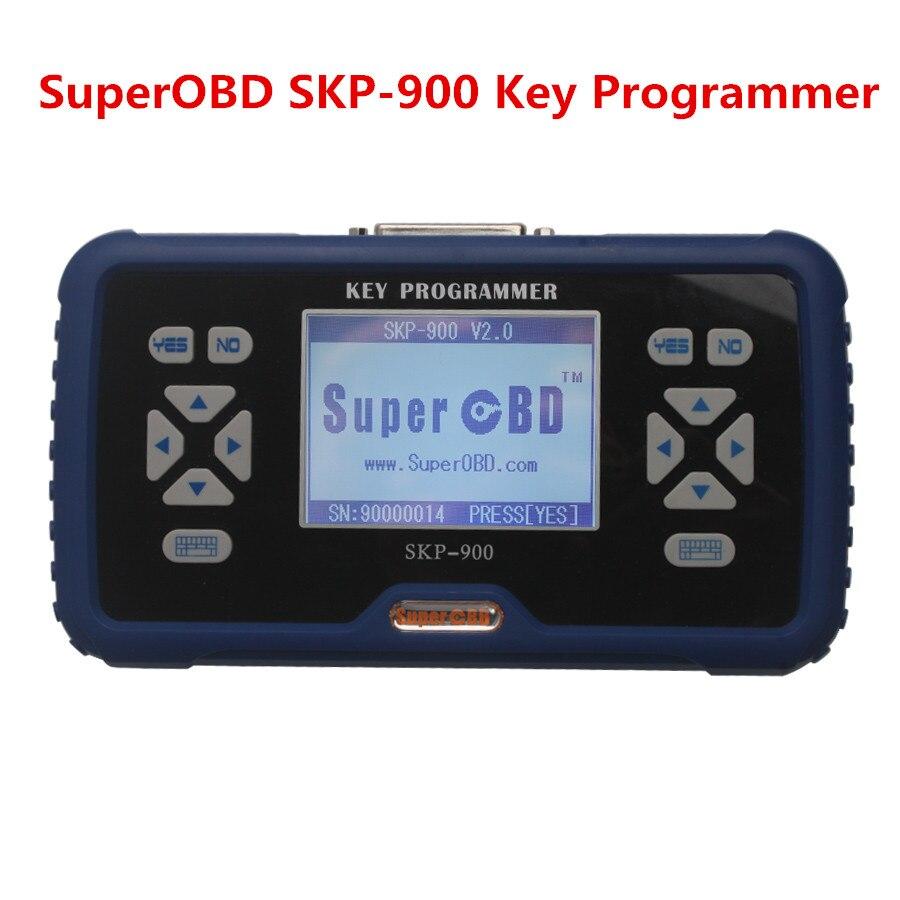 New SKP-900 SKP900 V5.0 OBD2 Auto Key Programmer Support Almost All Cars Update Online