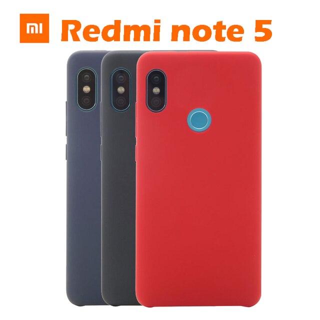 online store fcd3d 2be6e US $7.99  original xiaomi redmi note 5 ultra thin PC+Microfiber cover for  Xiaomi redmi note 5 note 5 protection case retail box-in Phone Bumper from  ...