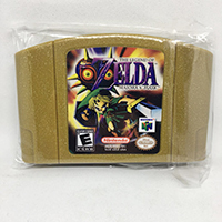 The Legend Of Zeldaed Majora S Mask Golden Shell English Language For 64 Bit USA Version