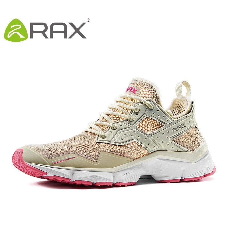 Rax Running Shoes Women Breathable Mesh Sports Woman Shoes Good Quality Outdoor Sneakers Men B2809W men bowling shoes breathable mesh outdoor sneakers women platform good quality walking shoes aa10085