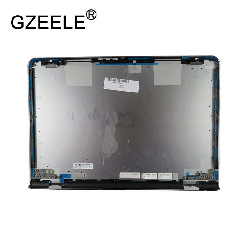 GZEELE New Laptop LCD top cover case for HP for ENVY 13 AB LCD Back Cover A shell 909623 001 6070B1083401 silver lcd top shell