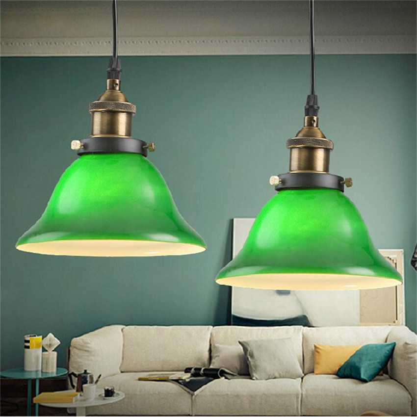 Vintage Green Glass Light Fixture: Aliexpress.com : Buy American Country Style Vintage