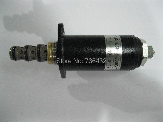 빠른 무료 배송! Kobelco 굴삭기 sk200-6 유압 펌프 솔레노이드 밸브 30c40-111-kobelco 솔레노이드 밸브