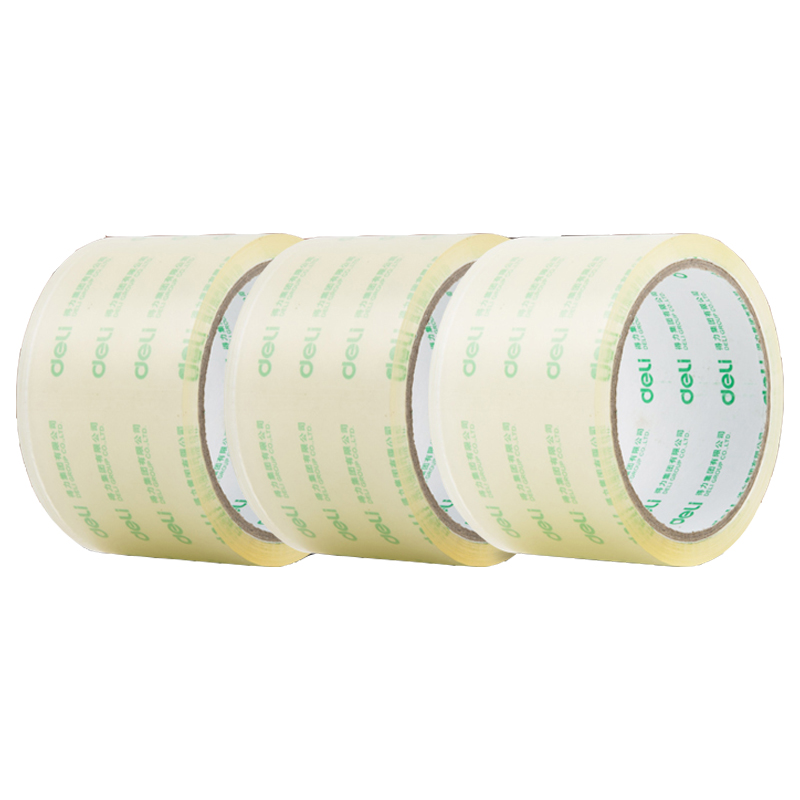 Deli Transparency Adhesive Tape School & Office Supplies Single-Side Tape Adhesive Tape (Univolume) drawstring waist tape side sweatpants