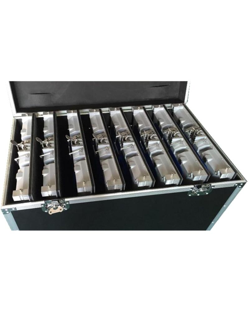 P3&P6 P5&p10 Die Casting Aluminum Flight Case576*576 640*640 Aluminium Die Casting Cabinet 1 Pack 6  Or 1 Pack 8 Flight Case