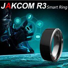 Black white Smart Ring Wear Jakcom new technology Magic jewelry For HTC Moto Nokia LG IOS Android WP Windows men women R3 rings