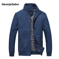 NaranjaSabor 2017 Spring Men S Jackets Men Casual Coats Men S Fashion Windbreaker Brand Clothing Male