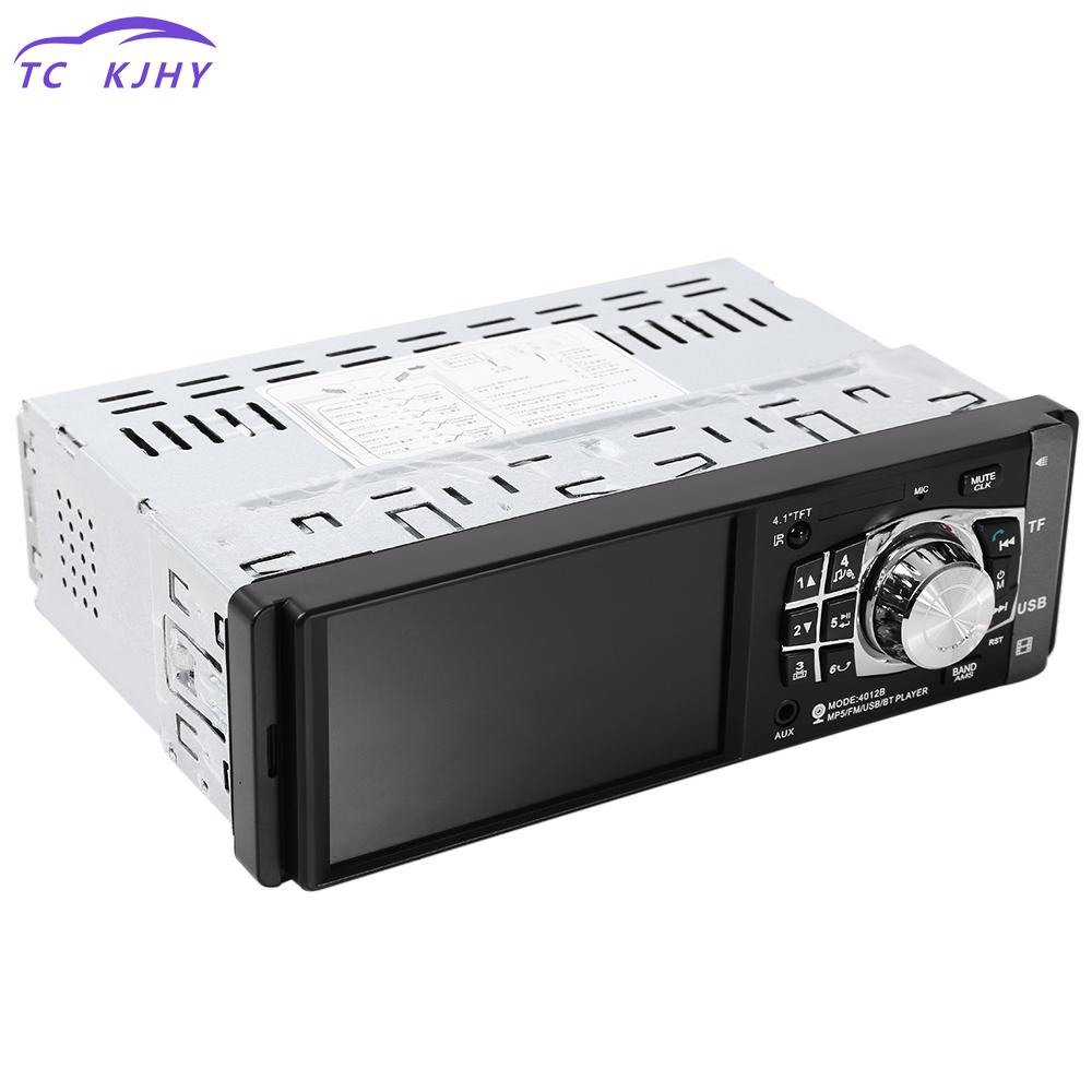 Car Radio 1 Din 4.1 Inch Car Radio Mp4 Mp5 Player Hd Video Player Bluetooth Remote Control Stereo Rear Camera Available PlayerCar Radio 1 Din 4.1 Inch Car Radio Mp4 Mp5 Player Hd Video Player Bluetooth Remote Control Stereo Rear Camera Available Player
