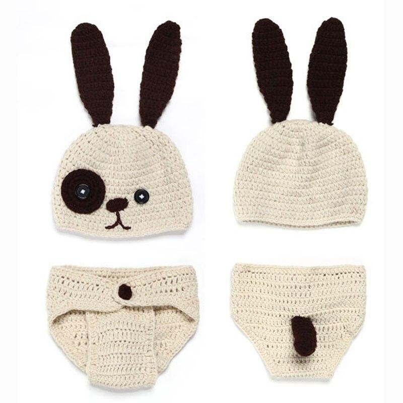 Hecho a mano del bebé del conejito del sombrero con la cubierta del ...