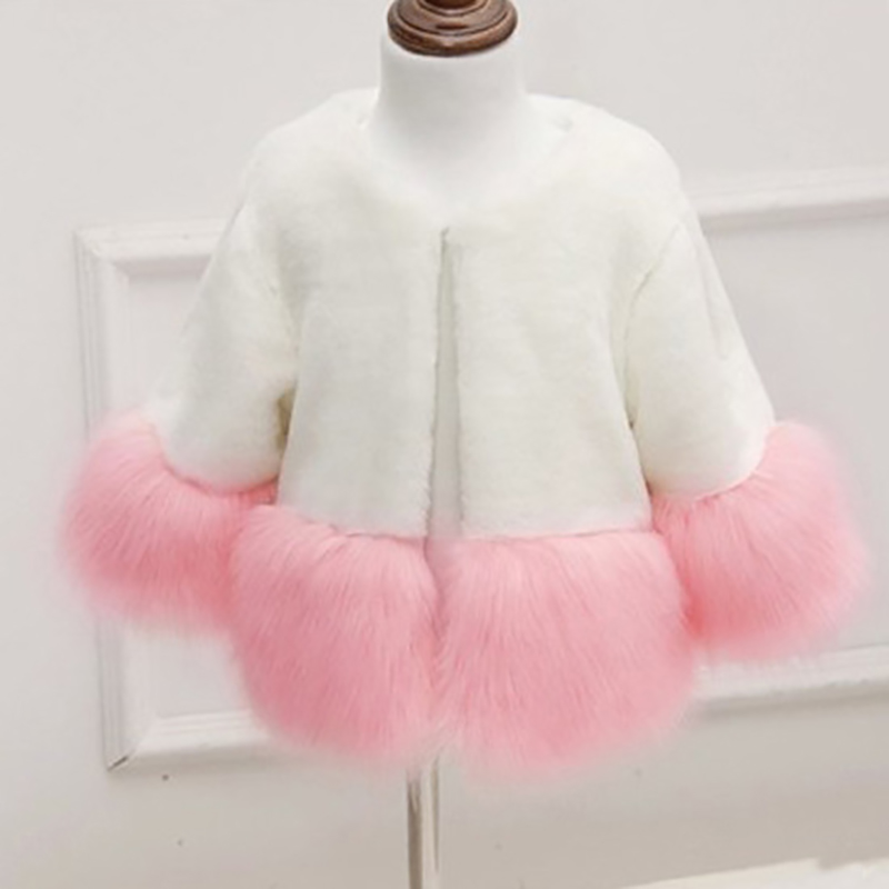Foreign trade autumn and winter new environmental protection imitation fur stripes fox fur coat children's winter coat FPC-191 спортивная футболка foreign trade and exports ni ke