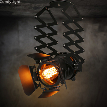 Led spotlight lighting cabinet lamp black Aluminum indoor  pendant light home lighting Studio/workshop Spring bright light mall