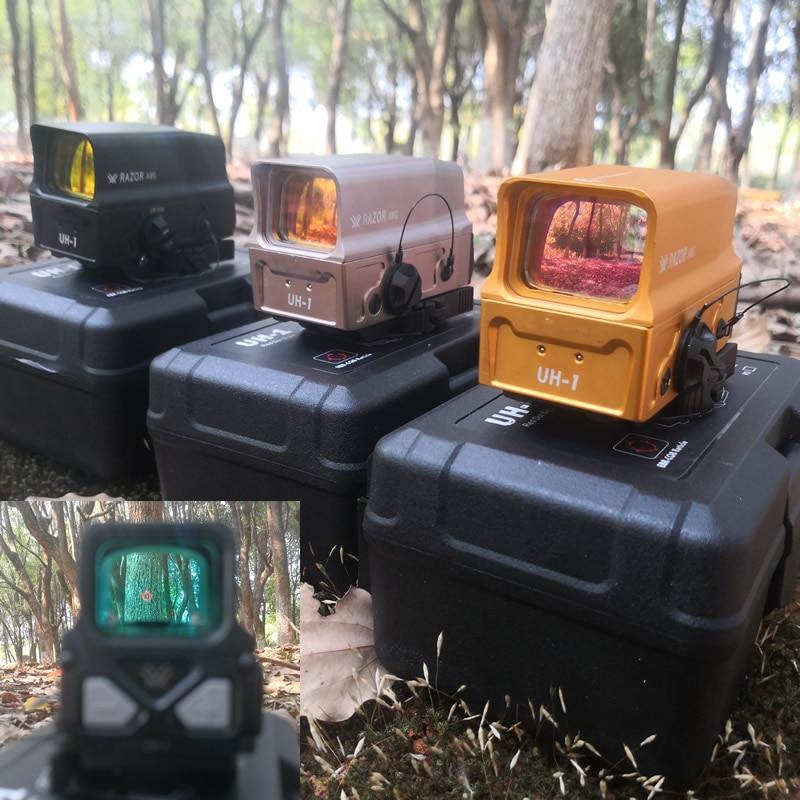 2018 Nuovo Vortex Razor AMG UH1 Olografica Red Dot Portata del Fucile con il Caricatore USB per la Batteria Reflex Dot Sight per aimming