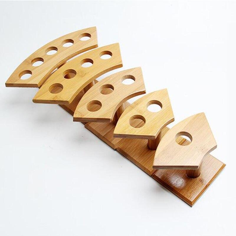 Bambus Sushi Stationen Eis Kegel Display Stander Holz Buffet