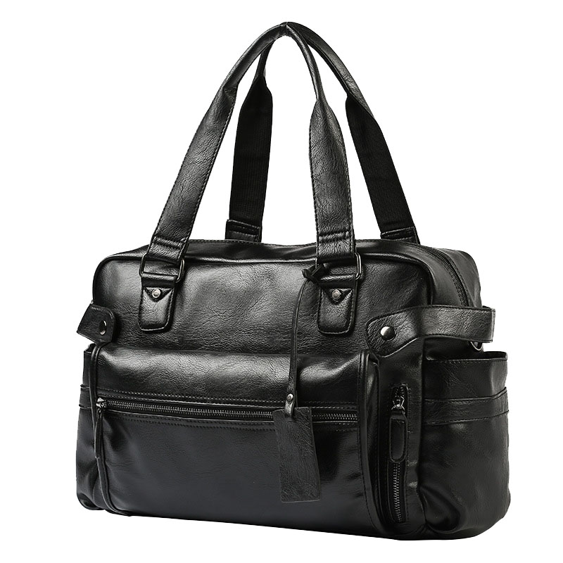 MenS Briefcase Messenger Shoulder Bags Large Capacity Handbag Business High Quality Leather Computer Bags Laptop MultifunctionMenS Briefcase Messenger Shoulder Bags Large Capacity Handbag Business High Quality Leather Computer Bags Laptop Multifunction