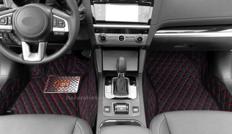 Accessories For Subaru XV 2012 - 2015 Inner Car Floor Mats Accessories Foot Pad Covers inner floor mats