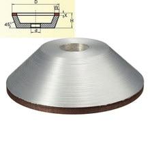 Высокое качество 100 мм алмазных чашка 180 грит резак для металла карбида инструмент