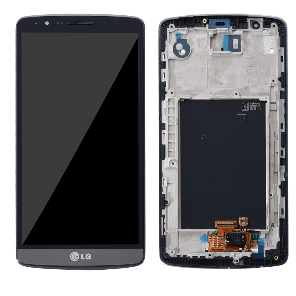 """Image 3 - 5.5"""" Screen for LG G3 LCD Touch Screen Digitizer Assembly with Frame LG G3 Display D850 D851 D855  Replacement-in Mobile Phone LCD Screens from Cellphones & Telecommunications"""