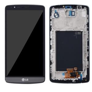 """Image 3 - 5.5 """"bildschirm für LG G3 LCD Touch Screen Digitizer Montage mit Rahmen LG G3 Display D850 D851 D855 Ersatz"""