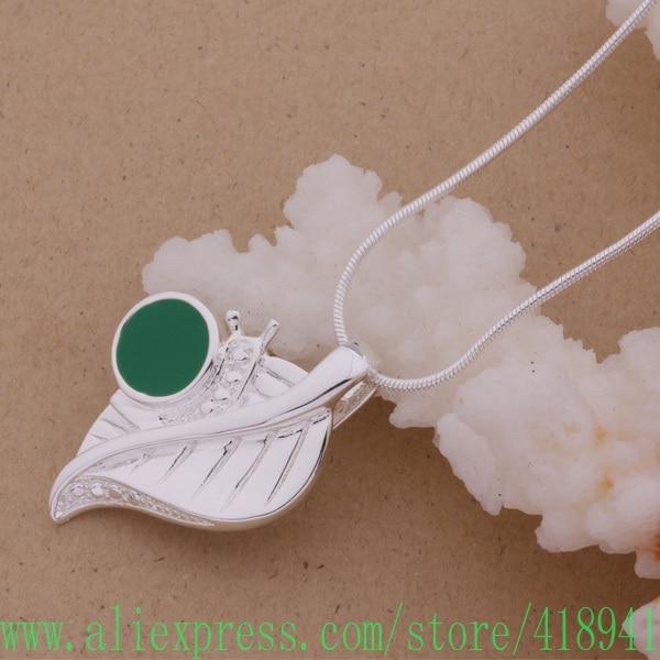 e60fb7b183e6 925 collar de plata 925 joyería de moda colgante bavajsca ahqaiyxa AN097