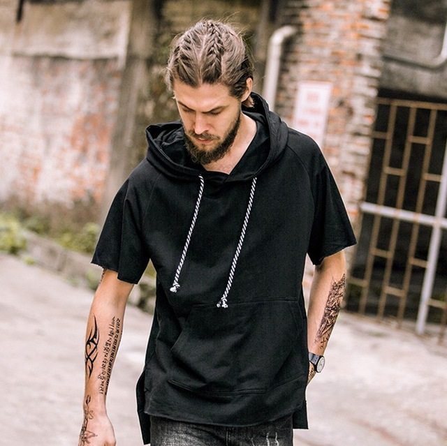 Thin Summer Youth Hooded Pullover