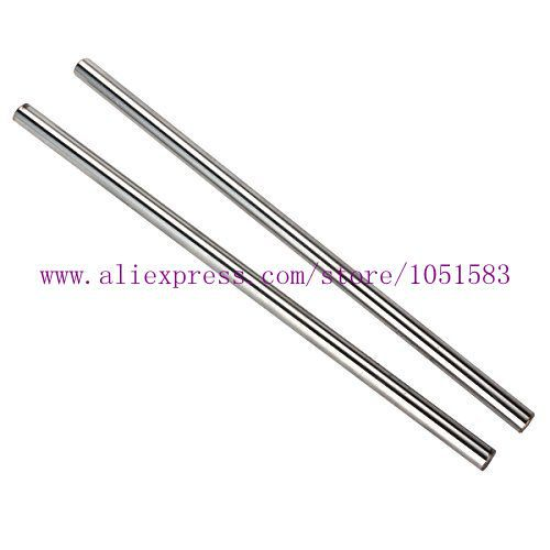 6 pcs/set Reprap Wilson TS 3D Printer OD 8mm smooth rods,Linear Shaft Optical Axis chrome plated reprap prusa mendel polished smooth rods od 8mm with linear bearings set lm8uu 3d printer accessory top quality