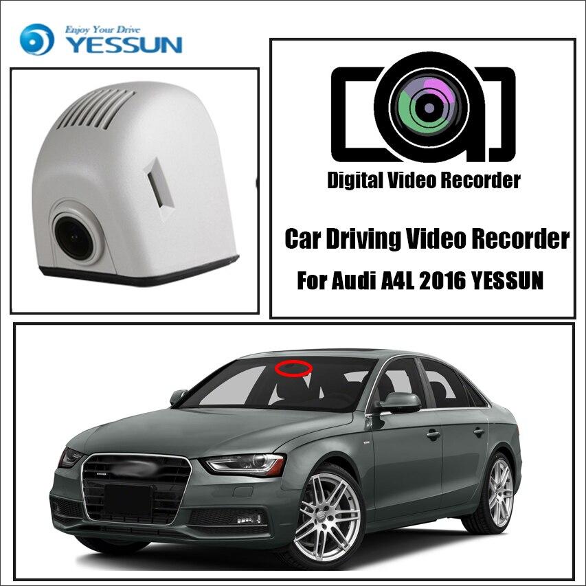 YESSUN для Audi A4 B8 8K 2008 ~ 2016 Автомобильный видеорегистратор Wifi видео регистратор камера ночного видения приложение управление телефон FHD 1080P