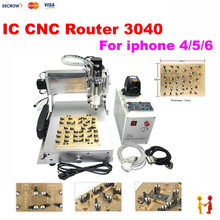 Newest for iphone main board repair LY IC cnc router 3040 mould 10 in 1 CNC milling polishing engraving machine