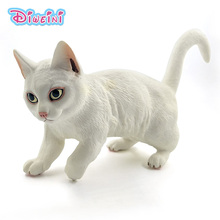 Artificial Big Persian Cat Simulation Animal Model action figure fairy garden decoration accessories Gift For Kids statue toy
