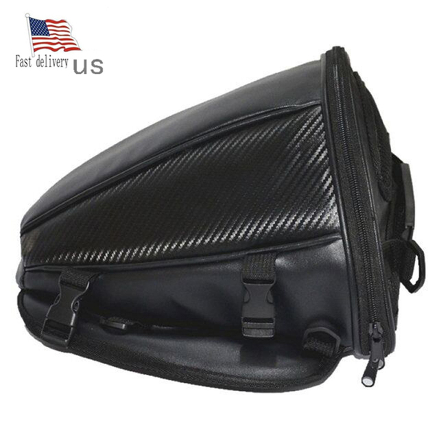 Fast deliver FedEx Warterproof Motorcycle Tank Bags Multifunction Luggage Universal Motorbike Oil Fuel Bags Seat Tail Pack