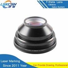 Lentille de champ de lentille de balayage de LSKCSH f-theta 1064nm 50×50-300×300 F63-420mm pour des pièces de Machine de marquage Laser de Fiber optique de 1064nm YAG