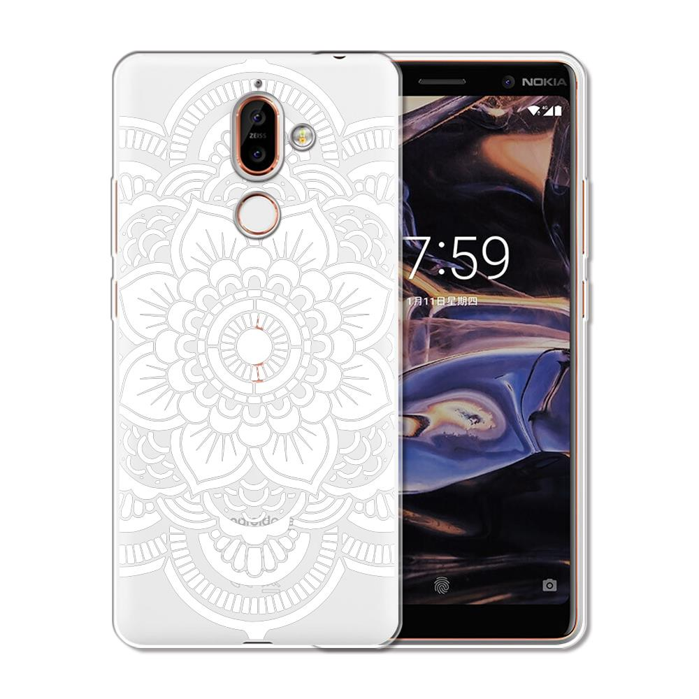 729d29ac66 Floral Lace Mandala Case For Nokia 3 2 1 5 8 7 Plus Cases Soft TPU Silicone  Case For Nokia 6 2.1 3.1 5.1 6.1 7.1 X6 2018 Cover-in Fitted Cases from ...