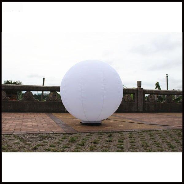 Kostenloser versand dia 1,5 mt aufblasbare werbung ballon, aufblasbare boden ballon aufblasbare kugel