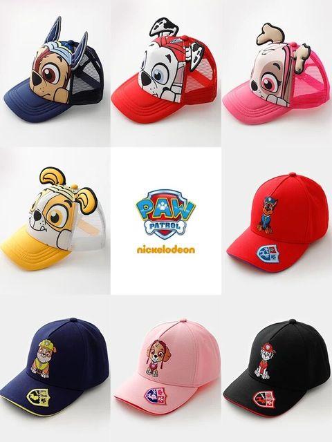 New Genuine PATA PATRULHA CRIANÇAS primavera verão Outono cap chapéu de alta qualidade venda quente das Crianças brinquedo de presente de Aniversário para 2-10 anos