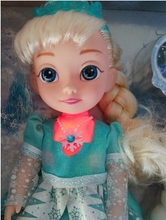 1pcs Snow Glow Princess Elsa Singing Doll With Musical Let It Go Gift Dolls For Girls